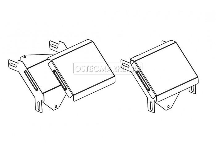 022610 Крышка к Угловому соединителю внешнему к лотку 100х100 КУСВ-100х100