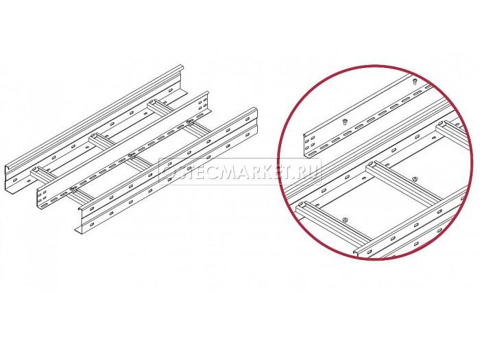 040114 Перегородка в лестничный лоток ЛКР высотой 110 мм ПЛПТЛКР-110