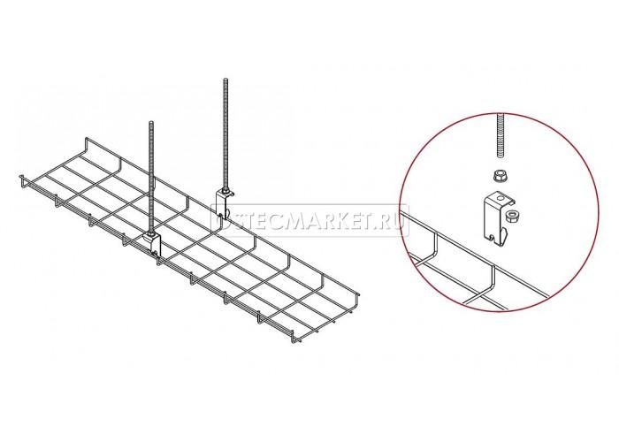 053201 Крюк для подвеса проволочного лотка КППЛ