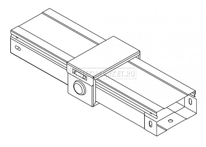 060113 Система защиты стыка IP44 для лотка 100х100 СЗСЛ-100x100