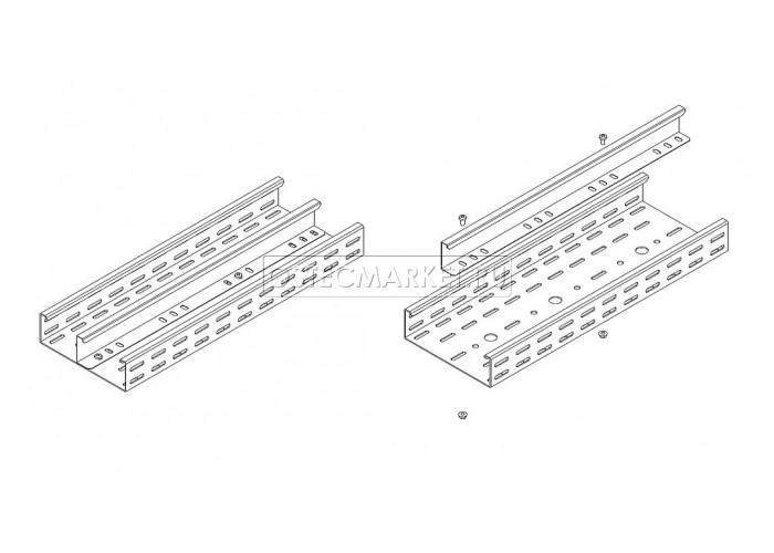 081635 Перегородка в лоток ПЛК 35х3000 (1,0 мм) ПЛП-35