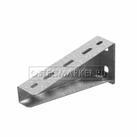 Кронштейн настенный для средних нагрузок 300 мм (2,0 мм)