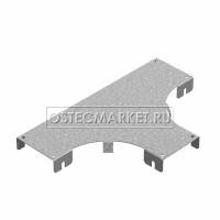 Крышка к Т-отводу горизонтальному к лотку ПЛК 200 (1,2 мм)