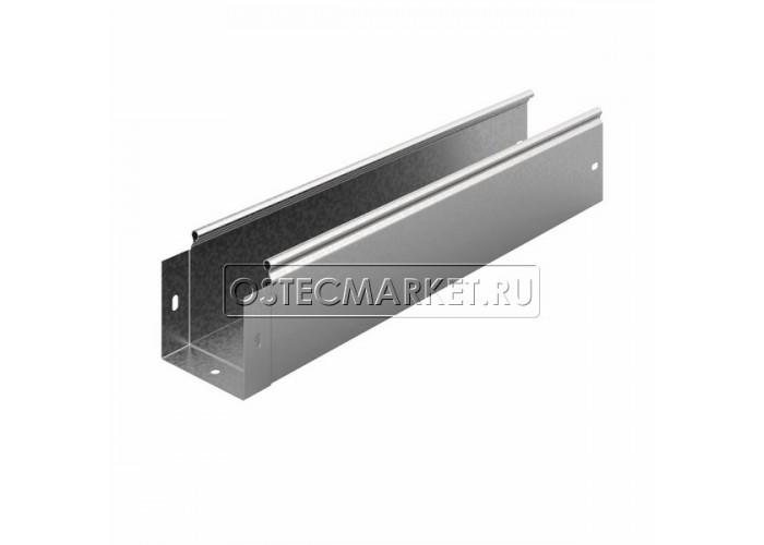 012113 Металлический лоток неперфорированный 100х100х2500 ЛНМЗТ(М)-100х100пр