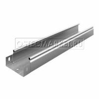 Металлический лоток неперфорированный 100х50х3000 (0,55 мм)