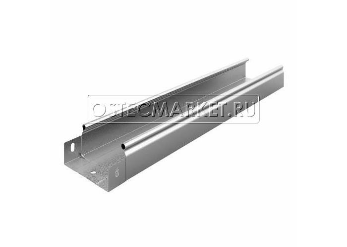 012151 Металлический лоток неперфорированный 100х50х2500 ЛНМЗТ(М)-100x50пр