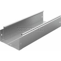 Металлический лоток неперфорированный 200х100х3000 (0,8 мм)