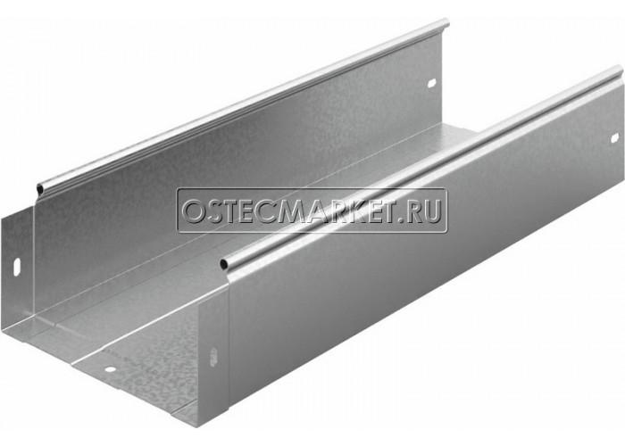 012213 Металлический лоток неперфорированный 200х100х2500 ЛНМЗТ(М)-200х100пр