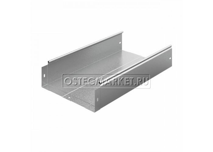 012313 Металлический лоток неперфорированный 300х100х2500 ЛНМЗТ(М)-300x100пр