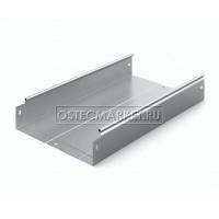 Металлический лоток неперфорированный 300х80х3000 (0,8 мм)