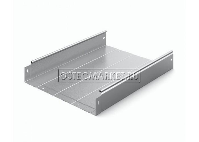 012483 Металлический лоток неперфорированный 400х80х2500 ЛНМЗТ(М)-400х80пр