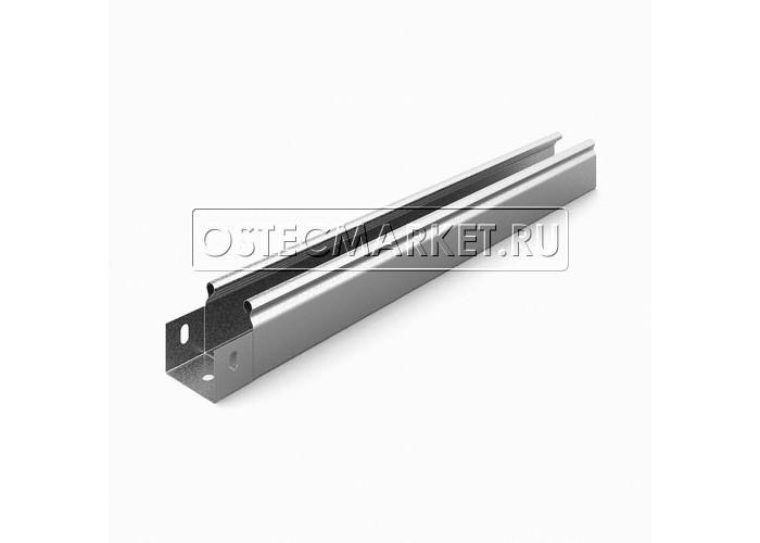 012551 Металлический лоток неперфорированный 50х50х2500 ЛНМЗТ(М)-50х50пр