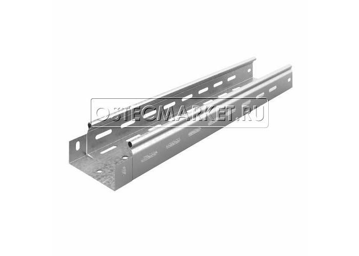 014157 Металлический лоток перфорированный 100х50х3000 (0,7 мм) ЛПМЗТ(М)-100х50х3000 (0,7 мм)