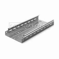 Металлический лоток перфорированный 200х50х3000 (0,7 мм) (горячий цинк)