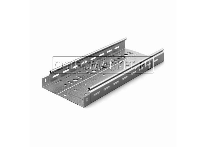 011255 Металлический лоток перфорированный 200х50х2500 (1 мм) ЛПМЗТ(М)-200х50пр (1 мм)