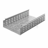 Металлический лоток перфорированный 300х100х3000 (0,8 мм)