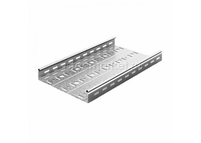 014357 Металлический лоток перфорированный 300х50х3000 (0,7 мм) ЛПМЗТ(М)-300х50х3000