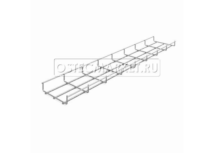 115153 Проволочный лоток 150х35х3000 (нержавеющая сталь) ПЛМн-150.35