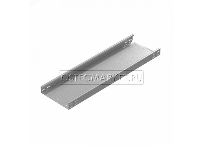 012460 Промышленный лоток кабельный неперфорированный 400х60х3000 (2,0 мм) ПЛК(Н)-400x60 (2 мм)