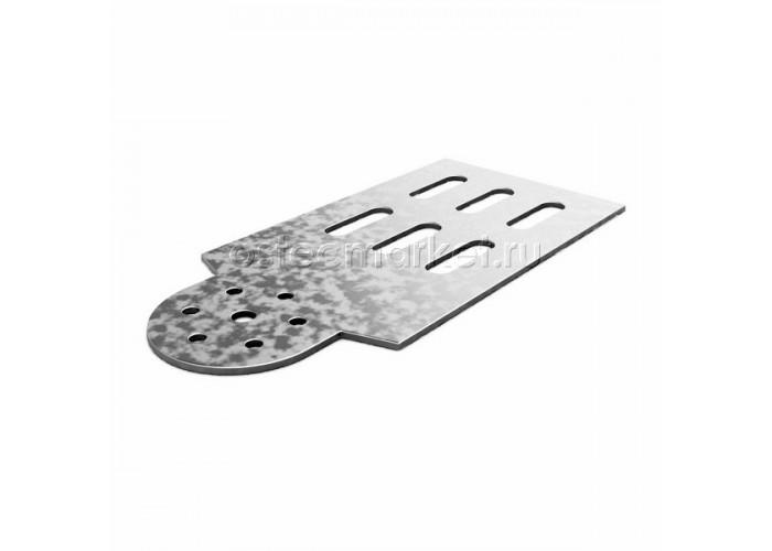 040311 Планка шарнирного соединения для лотка h = 100 мм ПШС-100
