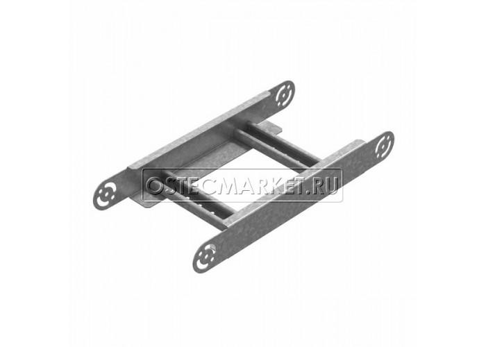 089255 Секция шарнирного соединения для лестничного лотка НЛО 500х50 СШСНЛО-500х50
