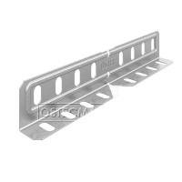 Соединитель универсальный изменяемый для лотка высотой 80/100 мм
