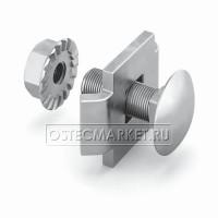 Соединитель проволочного лотка 20 одинарный (крепежный комплект )