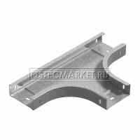 Т-отвод горизонтальный к лотку ПЛК 150х110 (1,5 мм)
