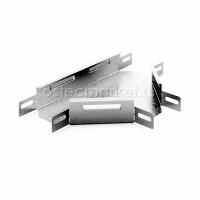 Угловой соединитель Т-образный к лотку 200х100