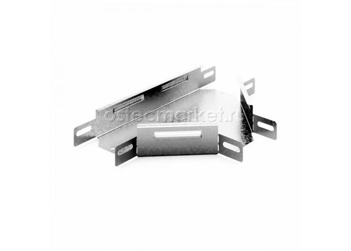 032345 Угловой соединитель Т-образный к лотку 400х50 УСТ-400x50