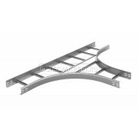 Тройник для лестничного лотка НЛО 200х80х3000 (радиус поворота 600 мм)