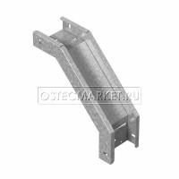 Угловой соединитель внешний к лотку ПЛК 150х110 (1,5 мм)