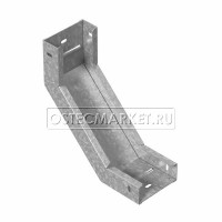 Угловой соединитель внутренний к лотку ПЛК 500х110 (1,5 мм)