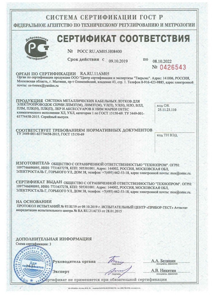 ГОСТР Климатика Технопром
