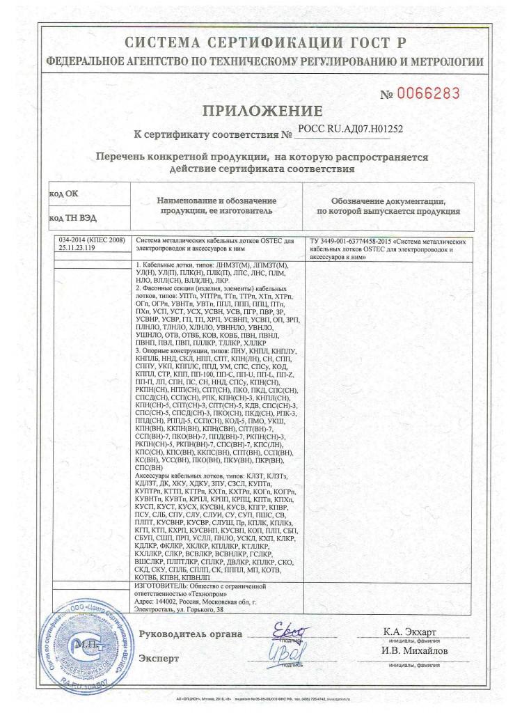 Сертификат ГОСТ 52868 до 11.2022